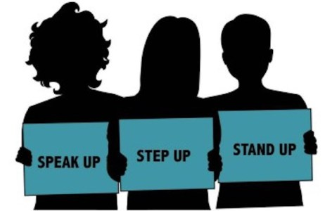 speak up step up stand upjpg