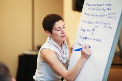 Rachel Grossman at National Arts Marketing Project 2016