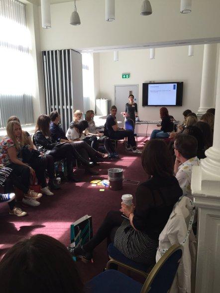 Rachel Grossman at Arts Marketing Association UK conference 2017