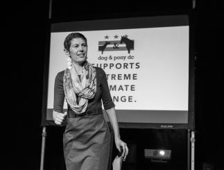 Rachel Grosman at Creative Mornings DC 2015