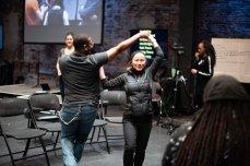 DTAPS EJ dances with Monique